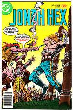 JONAH HEX #8 (VF+) Origin Story! Face Disfigurement Explained! Vintage DC 1978