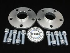 15mm VW AUDI 5x112 Hubcentric Wheel Spacers, 57.1 bore 10 RADIUS Bolts UK Made