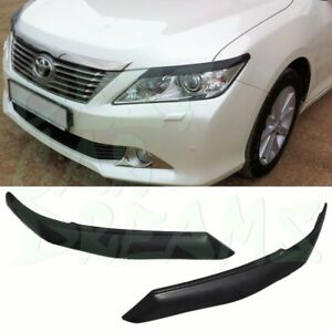 HEADLIGHT EYEBROWS COVERS TRIM FOR TOYOTA CAMRY XV50 2011-2014