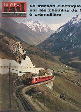la vie du rail N°1419 du 2 decembre 1973 train a cremaillere