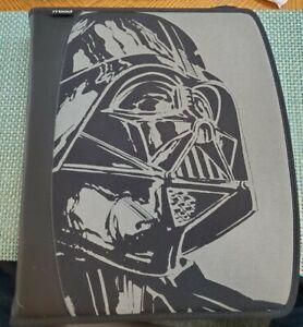 Vintage Mead Star Wars Darth Vader Trapper Keeper 3 Ring Binder Lucasfilm 1996