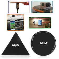 AGM Fixate Cell Phone Pads,Sticky Anti-Slip GEL Pads,Can Stick to Glass, Phone
