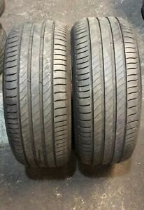 X2 Matching Pair Of 225/50/17 Michelin Primacy 4  98W Tyres