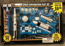 Boley 50 Pc Space Zone Exploration Play Set 1998 3+ Complete