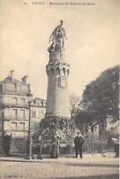 CPA 10 TROYES MONUMENT DES ENFANTS DE L'AUBE