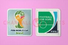 World Cup Brazil 2014 and Football For Hope Soccer Patch / Badge