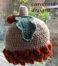 Crochet Pattern - From Little ACORNS Baby Hat