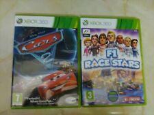 Xbox 360 Spielepaket Pal Disney Cars 2 & f1 Race Stars.