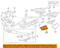 GM OEM Exhaust-Heat Shield 20953804