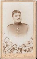 CDV photo Soldat - Regensburg 1890er