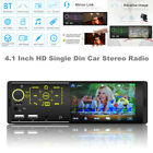 Single Din Car Stereo 4.1 Inch HD Touch Screen Bluetooth Car MP5 Player AUX /USB