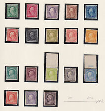 More details for united states 1917-19 perf 11 18 values 1c - 33038