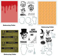Tim Holtz Emboss Stamp & Die Set Halloween Zombies Code 564267
