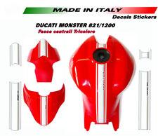 Adesivi fascia centrale tricolore per Ducati Monster 821 1200