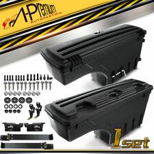 2pcs Rear Lh & Rh Truck Bed Storage Toolbox for Dodge Ram 1500 2500 3500 02-18