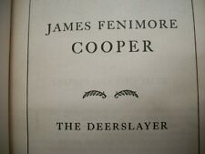 The Deerslayer (James Fenimore Cooper, n.d. Hardcover)