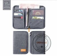 P.travel Travel Passport Credit ID Card Cash Wallet Purse Holder Case  Bag