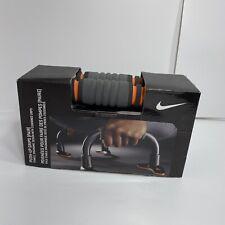Nike Push Up Grips Pair Gray / Orange Cushioned Grips Exercise Equipment