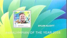 Australia-2016 Paralympian Dylan Alcott  mnh-special sheet limited print