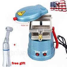 Dental Vacuum Forming Molding Machine Former Heat Thermoforming & Contra Angle