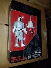 RARE New Star Wars Black Series Boba Fett figure exclusive white prototype 3.75""