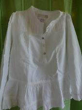 Robe blanche pour grande poupée ou fillette !!