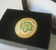 Girl Scout 100 Anniversary ALUMNA BROOCH Gold Broach Pin Jewelry Leader GIFT New
