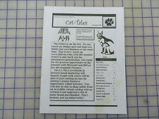 Big Cat Rescue formally, Wild Life on Easy Street. 9/1999 Issue, Collectable