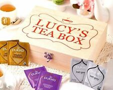 Wooden Personalised Square Decorative Boxes, Jars & Tins