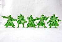 Space Pirates 5 Post Apocalyptic Figures 54mm Plastic Toy Soldiers Tehnolog New