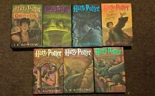 Harry Potter Complete Book Set - First Edition! Great Set-Bid Today-Hardcover!
