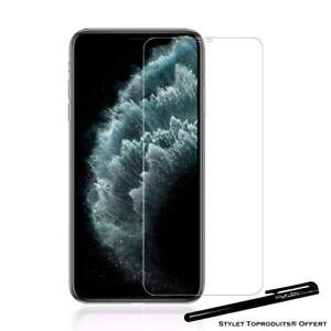 Film de protection 2.5D couverture complète Verre trempé pour iPhone 11 pro max