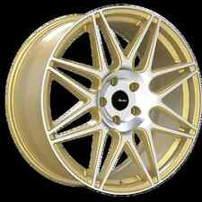 19x8.5 Advanti Racing Classe 5x120 +45 Gold Wheels (Set of 4)