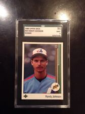 1989 UPPER DECK RANDY JOHNSON RC #25 SGC 96 Mint