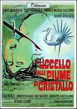 Dvd L' UCCELLO DALLE PIUME DI CRISTALLO - (1970) *** Dario Argento *** ...NUOVO
