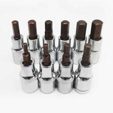 5mm Hex Allen Key Bit 30mm Length 10mm Shank Chrome Vanadium Hardened Tip