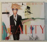 DAVID BOWIE : REALITY ♦ Album Promo CD ♦