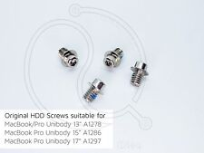 Apple Macbook Pro A1278 A1286 A1297 A1297 13 15 17 HD HDD Hard Drive Screws Set