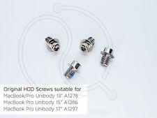 Apple Macbook Pro A1278 A1286 A1297 A1297 13 15 17 HD HDD Hard Drive Screws Set