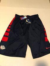Nike Gonzaga Bulldogs  NCAA New with tags Elite Basketball Shorts XL