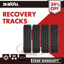 2 PAIRS NEW Recovery Tracks Sand Track 10T 4WD Vehicle Snow Mud Trax Black
