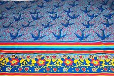 NEW, Bluebird P/C cloth, fabric, material, sold by the yard, is 61 inches wide