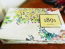 Sferra HYDRANGEA Duvet Cover & Shams Set KING 100% Cotton Sateen  - NEW!