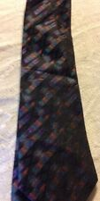 Guy Laroche Silk Mens Tie Psychedelic Colors Tie Canada