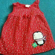 0-3 mesi Bambina Inverno Vestito Rosso BLUEZOO