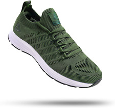 New listing PEAK Mens Lightweight Walking Shoes Comfortable Slip On Sports Sneakers for Gym,