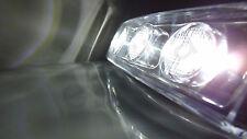 2X WHITE FRONT CLEAR LED VISOR DRL MARKER LIGHT LAMP CAB SCANIA TRUCK 24V