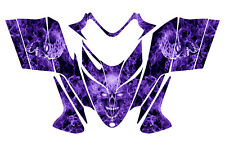 POLARIS SHIFT RMK DRAGON wrap graphics sled deco kit #9500 Purple Zombie