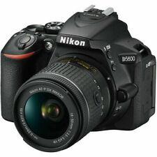 Nikon D D5600 24.2 MP Digital SLR Camera - Black (Kit with AF-P DX 18-55mm f...