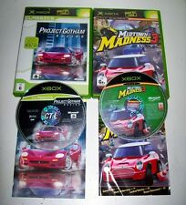 Midtown Madness 3 And Project Gotham Racing 2 Great  Xbox Games